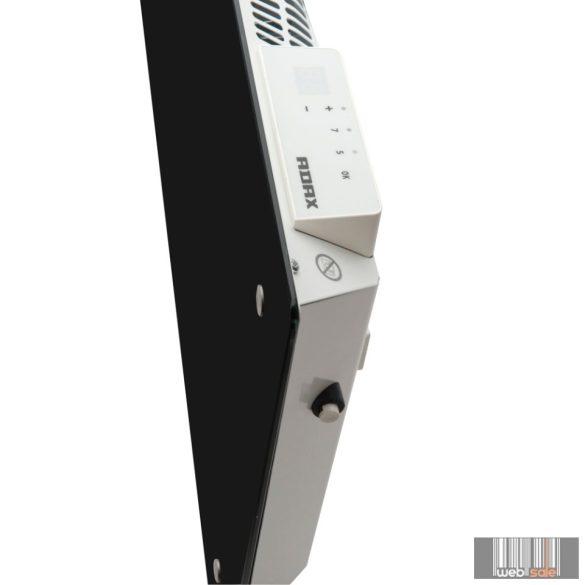 ADAX CLEA H 06 KWT - 600W Fekete WIFI +ajándék Energizer tartós elem 5 év teljes körű garanciával