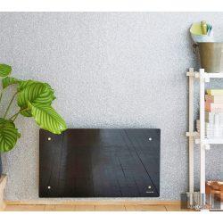 ADAX CLEA L 06 KWT - 600W Fekete WIFI energiatakarékos fűtőpanel+ajándék Energizer elem 5 év teljes körű garanciával