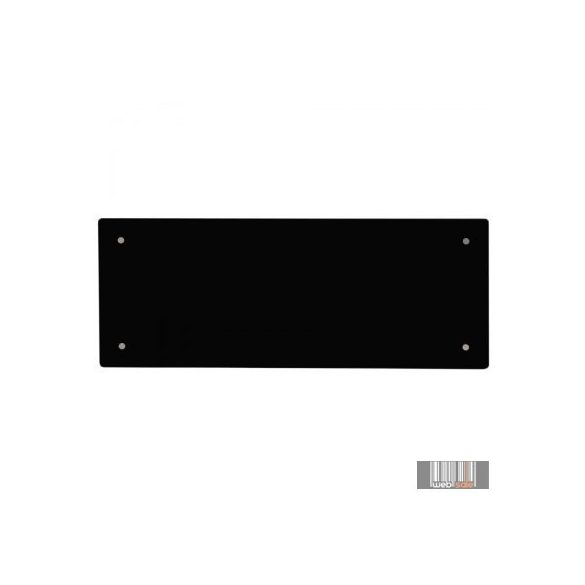 ADAX CLEA L 08 KWT - 800W Fekete WIFI energiatakarékos fűtőpanel+ajándék Energizer elem 5 év teljes körű garanciával
