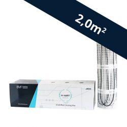 BVF H-MAT beépíthető fűtőszőnyeg 100 watt/m² - 2,0 m² (HMAT100020)