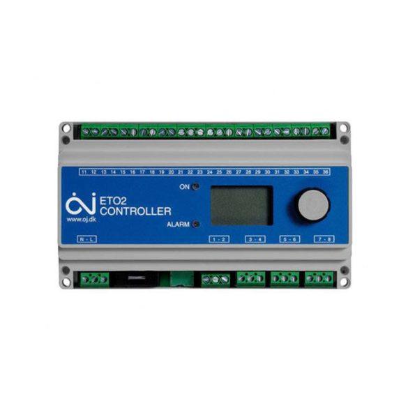 ETO2-4550 kétzónás kültéri termosztát gépkocsifeljáró és ereszcsatorna fűtéséhez (OJETO245)