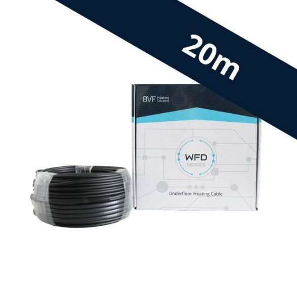 BVF WFD 10W/m beépíthető fűtőkábel - 20 m (WFD100200)