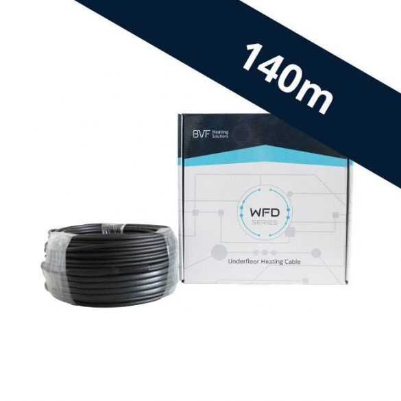 BVF WFD 10W/m beépíthető fűtőkábel - 140 m (WFD101400)