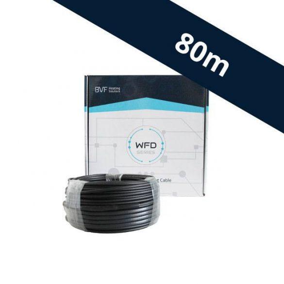 BVF WFD 20W/m beépíthető fűtőkábel - 80 m (WFD201600)