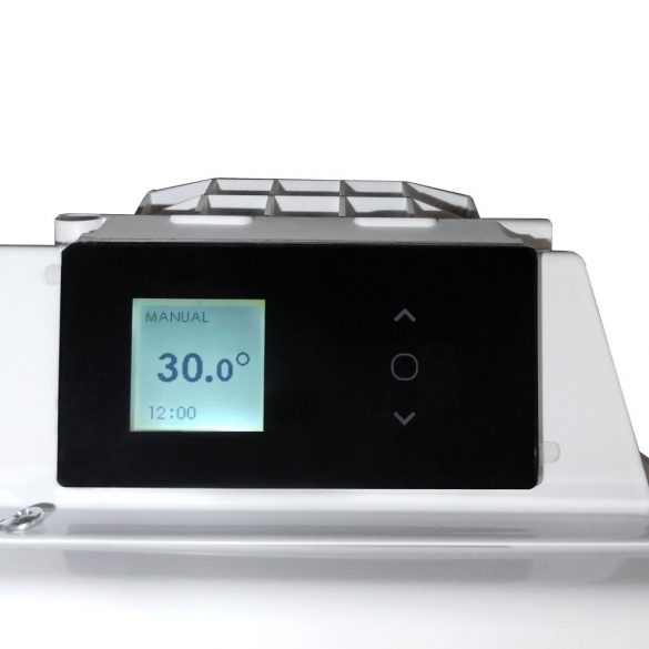 EVIDENCE3 Prog 1500 W HD 2in1 Elektromos radiátor, fűtőpanel elektronikus termosztáttal + ajándék mérőszalag