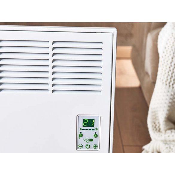 iVigo energiatakarékos fűtőtest 2000 watt elektronikus termosztáttal