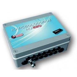 Tech HU-220 Szivattyú/zónaszelep/termoelektromos szelep vezérlő, kapcsoló doboz