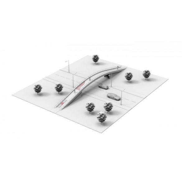 Elektromos fűtőszőnyeg kültérre - Comfort Heat CFTAV-300, 7 m2, 2100W 85510550
