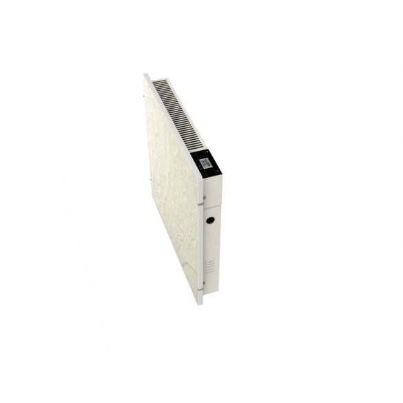 Elektromos kerámia hőtárolós fűtőpanel - Climastar Avant WiFi fehér pala 1000 W CS0110 5 év teljes körű garanciával + ajándék mérőszalag