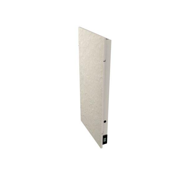 Elektromos kerámia hőtárolós fűtőpanel - Climastar Avant WiFi fehér pala álló 1300 W CS0122 5 év teljes körű garanciával + ajándék mérőszalag