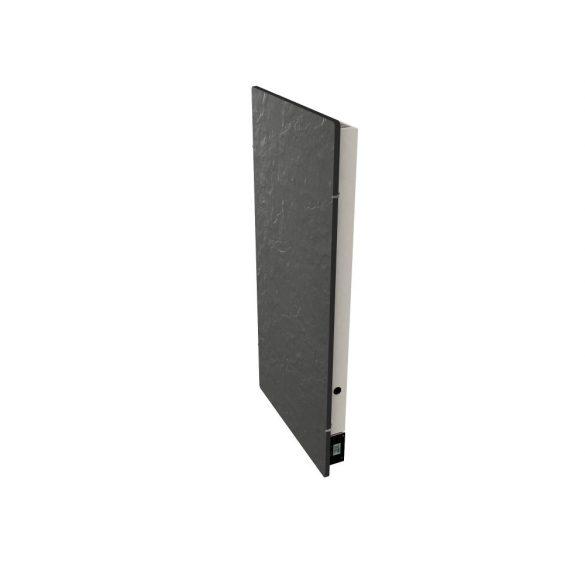 Elektromos kerámia hőtárolós fűtőpanel - Climastar Avant WiFi fekete pala álló 1300 W CS0123 5 év teljes körű garanciával + ajándék mérőszalag