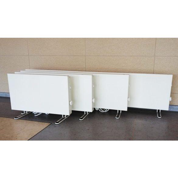 ADAX VP 1020 KETP - 2000 W elektromos fűtőpanel, energiatakarékos radiátor tartólábbal, Elektronikus termosztáttal + ajándék mérőszalag 5 év teljes körű garanciával