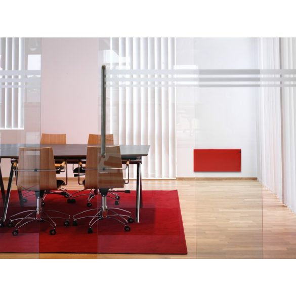 ADAX NEO NP piros 06 KDT - 600 W energiatakarékos radiátor, elektromos fűtőpanel Digitális termosztáttal + ajándék mérőszalag 5 év teljes körű garanciával