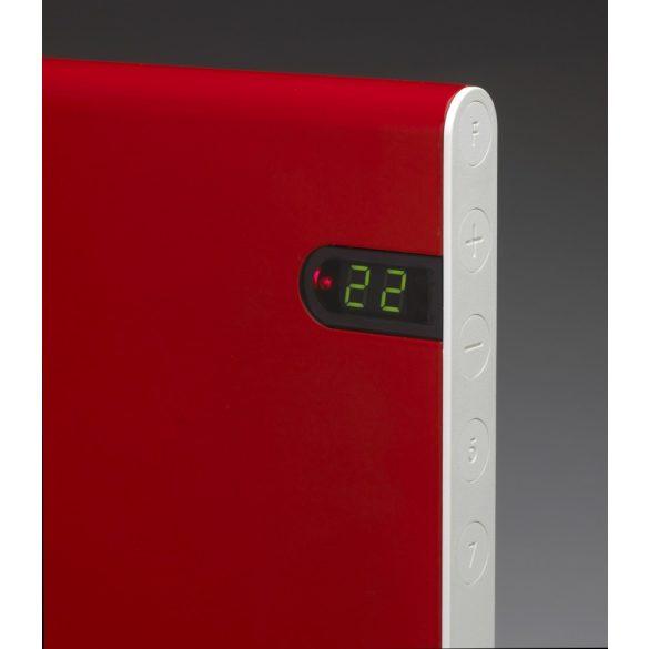 ADAX NEO NP piros 12 KDT - 1200 W energiatakarékos radiátor, elektromos fűtőpanel Digitális termosztáttal + ajándék mérőszalag 5 év teljes körű garanciával