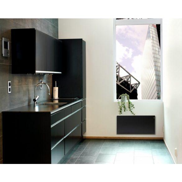 ADAX NEO NP Fekete 04 KDT - 400 W energiatakarékos radiátor, elektromos fűtőpanel Digitális termosztáttal + ajándék mérőszalag 5 év teljes körű garanciával