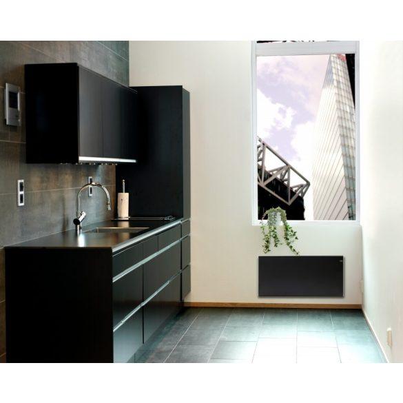 ADAX NEO NP Fekete 08 KDT - 800 W energiatakarékos radiátor, elektromos fűtőpanel Digitális termosztáttal + ajándék mérőszalag 5 év teljes körű garanciával