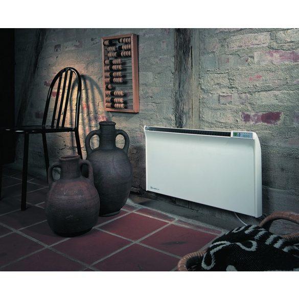 ADAX Glamox TPA 06 600 W Fehér energiatakarékos radiátor, elektromos fűtőpanel Programozható digitális termosztáttal 5 év teljes körű garanciával