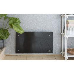 ADAX CLEA H 04 KWT - 400 W Fekete WIFI energiatakarékos radiátor, elektromos fűtőpanel Wifi termosztáttal + ajándék mérőszalag 5 év teljes körű garanciával