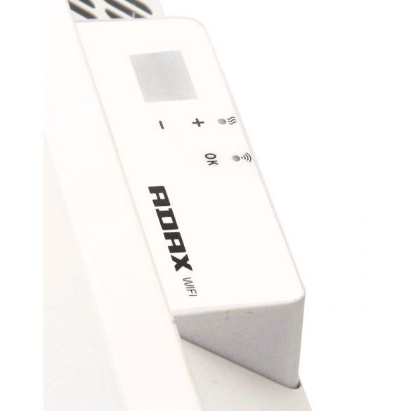 ADAX CLEA L 10 KWT - 1000W Fehér WIFI elektromos fűtőpanel, energiatakarékos radiátor Wifi termosztáttal + ajándék mérőszalag 5 év teljes körű garanciával