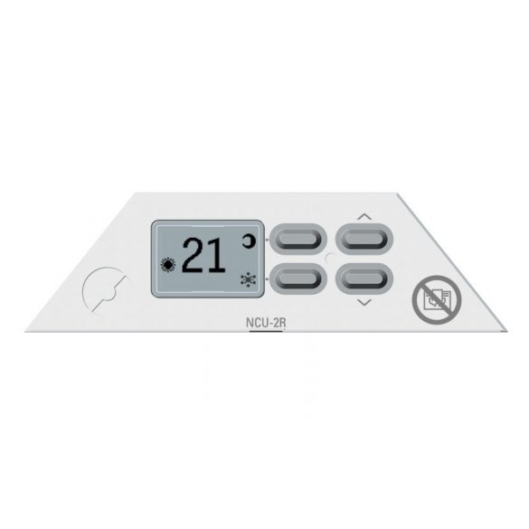 Nobo Fjord 500 W 20 cm Fehér energiatakarékos radiátor, elektromos fűtőpanel Rádióvezérelt termosztáttal