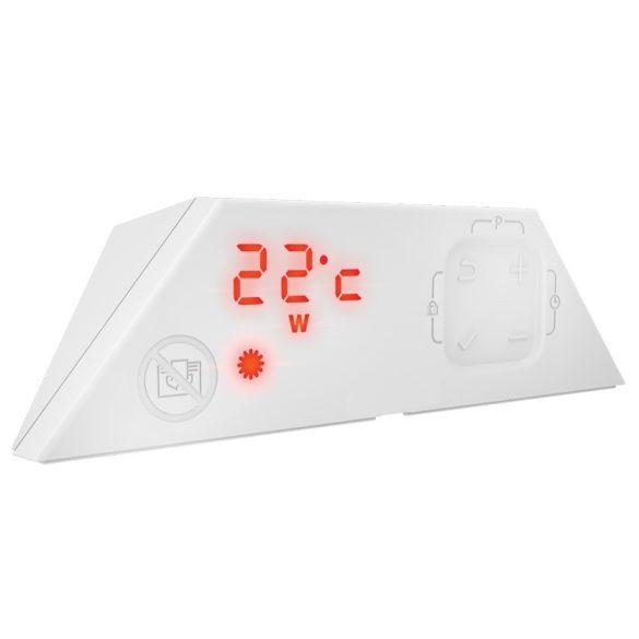 Nobo Fjord 1000 W 20 cm Fehér energiatakarékos radiátor, elektromos fűtőpanel Digitális termosztáttal