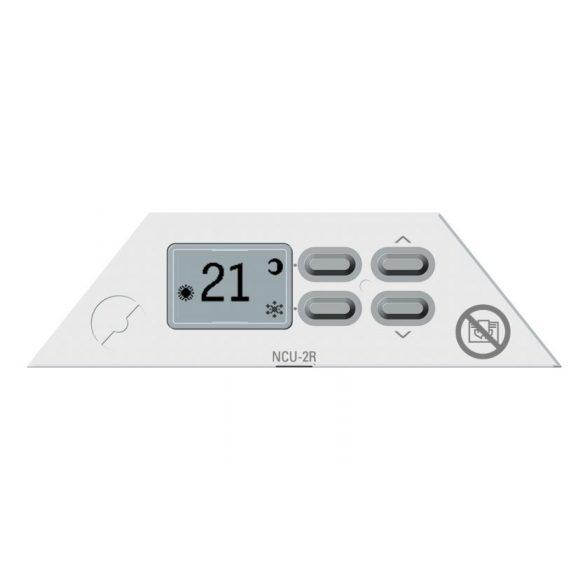 Nobo Fjord 500 W 40 cm Fehér energiatakarékos radiátor, elektromos fűtőpanel Rádióvezérelt termosztáttal