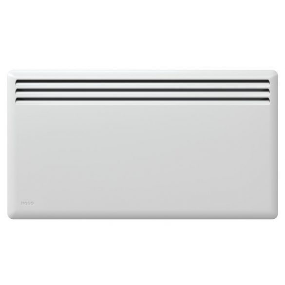 Nobo Fjord 750 W 40 cm Fehér energiatakarékos radiátor, elektromos fűtőpanel Rádióvezérelt termosztáttal