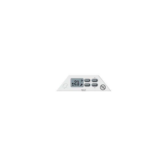Nobo Fjord 2000 W 40 cm Fehér energiatakarékos radiátor, elektromos fűtőpanel Digitális termosztáttal