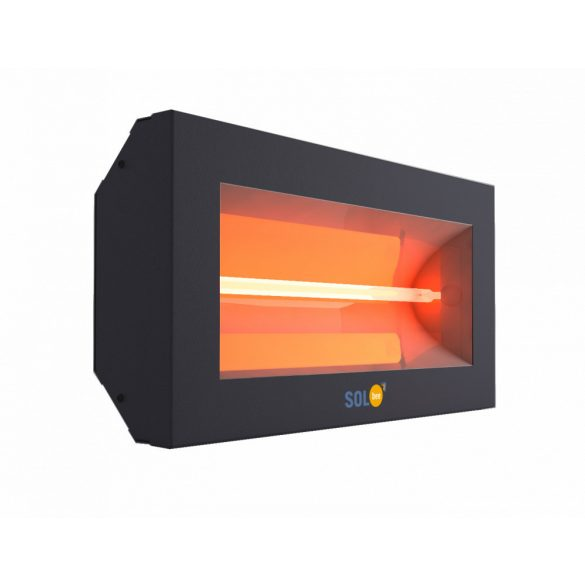 SolBee SBH 15 C halogén infrafűtés - fekete, 1500 W SBH 15C D