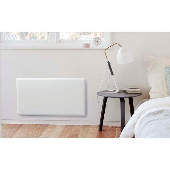 Nobo Oslo 40 cm 500 W energiatakarékos radiátor, elektromos fűtőpanel Digitális termosztáttal NTL4N-05